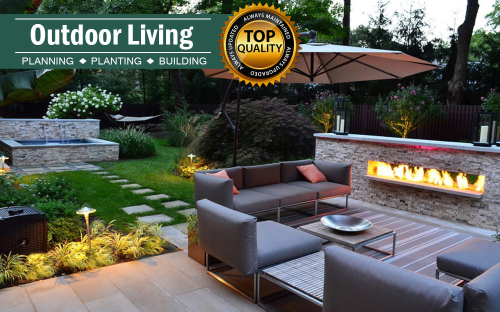 We've noticed a trend that outdoor living