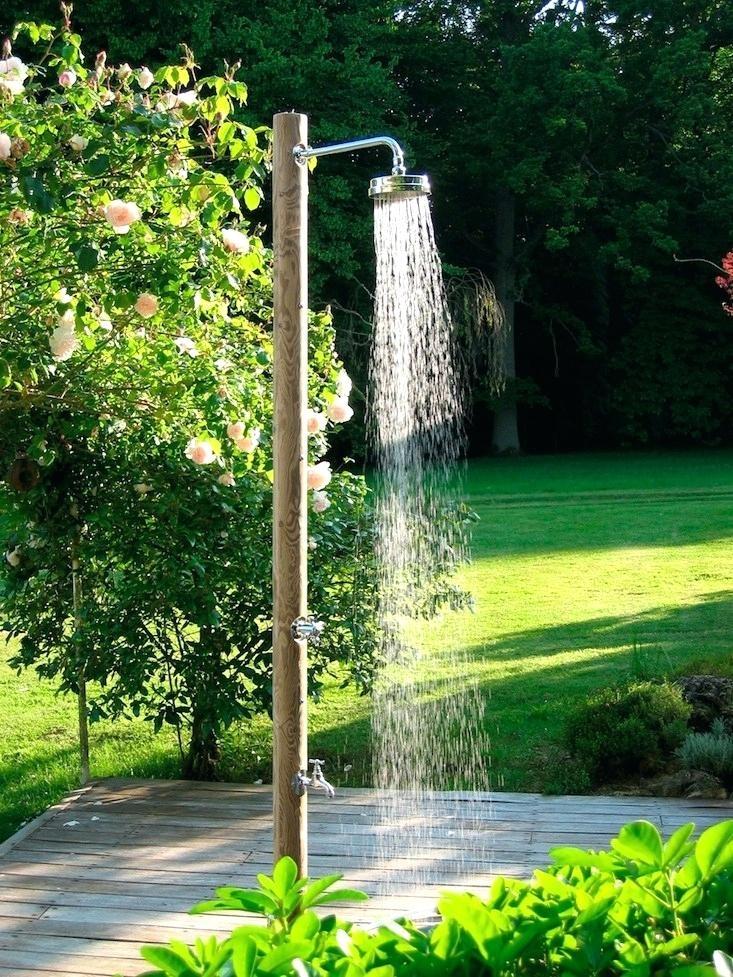 outdoor foot shower