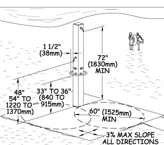Dimensions: height 230 cm