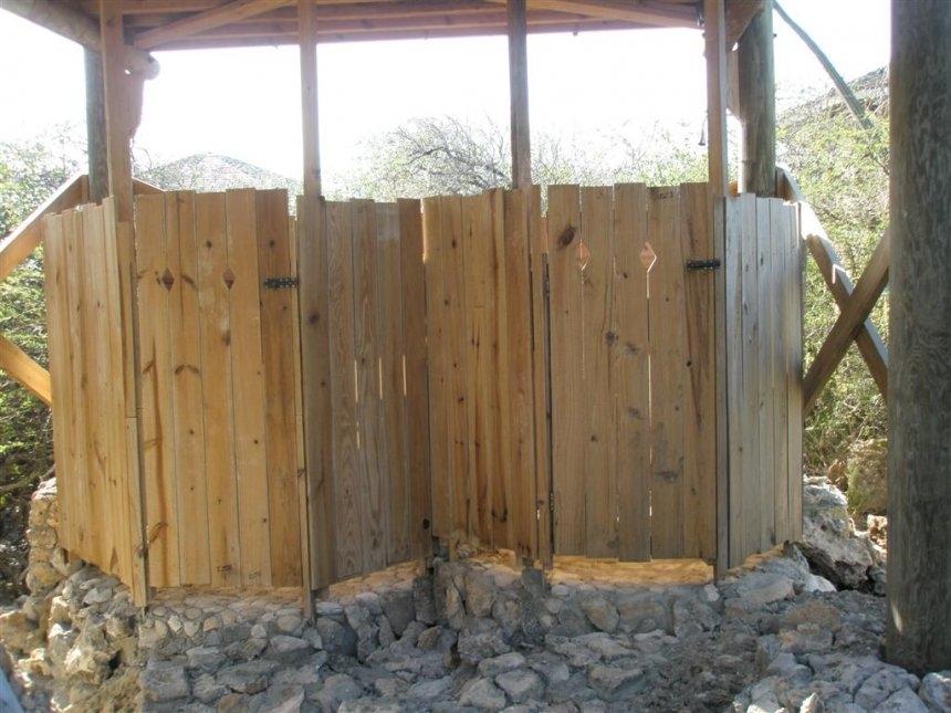 portable camping shower outdoor pump enclosure campi