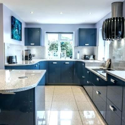 A beautiful kitchen, with the gorgeous Blue Mountains as a backdrop