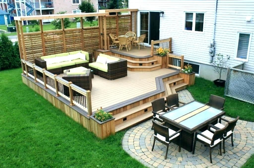 Be creative with your deck design!