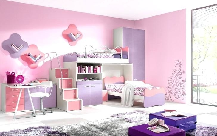 This cozy toddler girls bedroom has a lovely gray color scheme