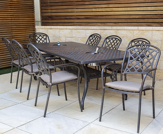 Color: Christopher Knight Home 296592 Odena Outdoor Cast Aluminum