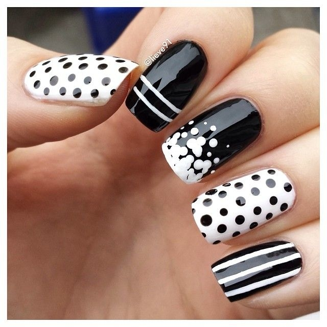 99+ Trending Black Nails Art Manicure Ideas; Black coffin nails; Black acrylic nails