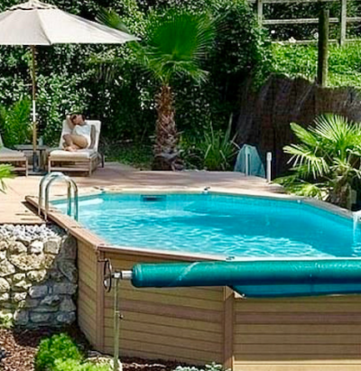 hot tub deck awesome backyard ideas decking pictures