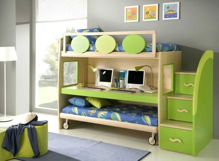 beds design for small room creative bunk beds for small rooms kids bedroom  dark varnished wood