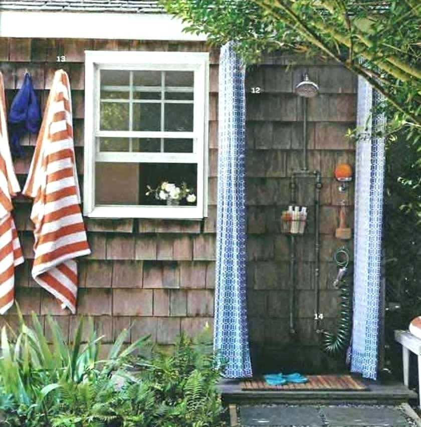 32 Beautiful DIY Outdoor Shower Ideas ( for the Best Summer Ever | Hometalk: Spring Inspiration | Outdoor bathrooms, Outdoor shower enclosure,