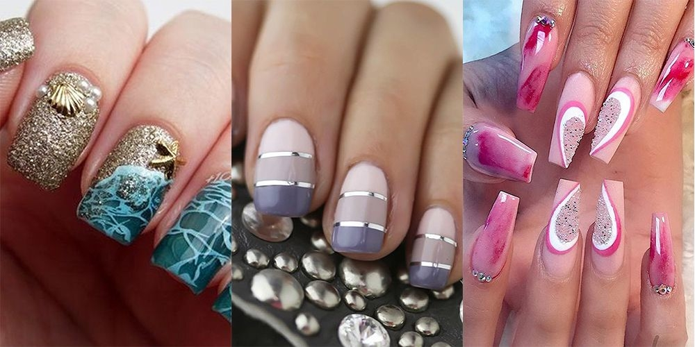 Unique, Cute,  Simple and Easy DIY Nail Designs For Spring, Winter, Fall, and Summer