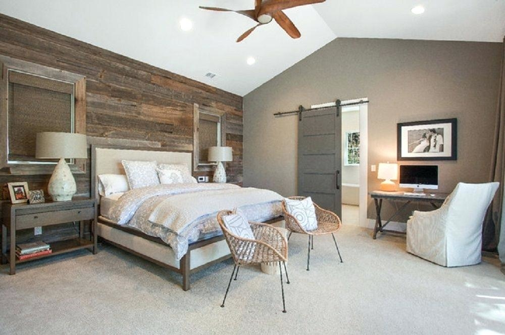 rustic country bedroom decorating