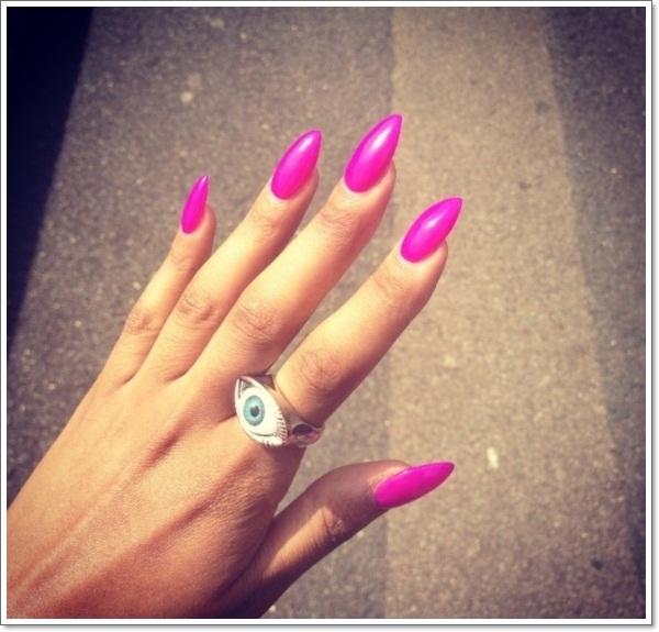 The 25 best Stiletto nail designs ideas on Pinterest | Burgundy