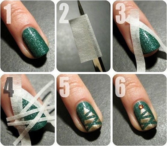 Gel polish (or use regular polish if you prefer) your clients nails…