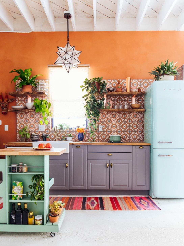 boho kitchen colorful chic kitchen designs boho kitchen ideas