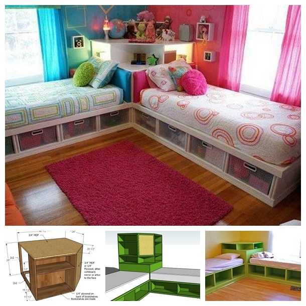 diy space saving bed ideas