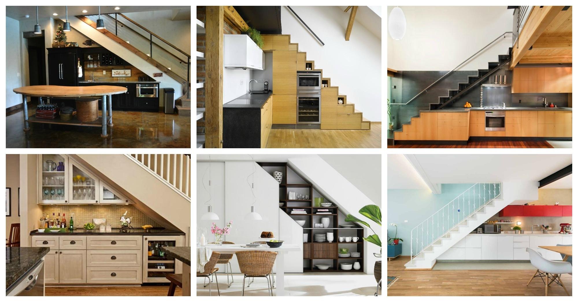 under staircase designs kitchen design in under  staircase under