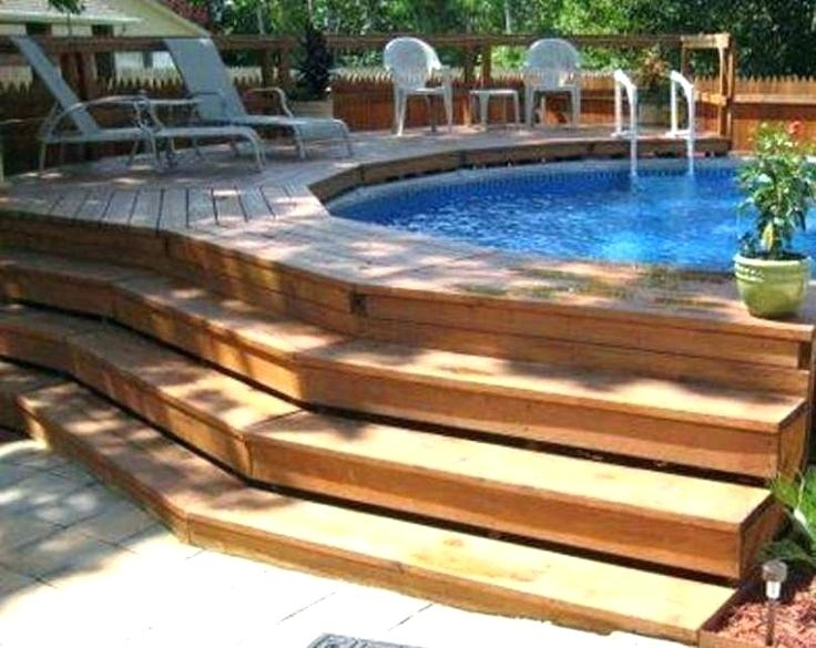 We offer the very finest pools, and they are manufactured