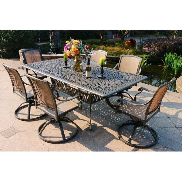 11 piece outdoor dining set add to cart the hom yuca 11 piece 11 piece patio