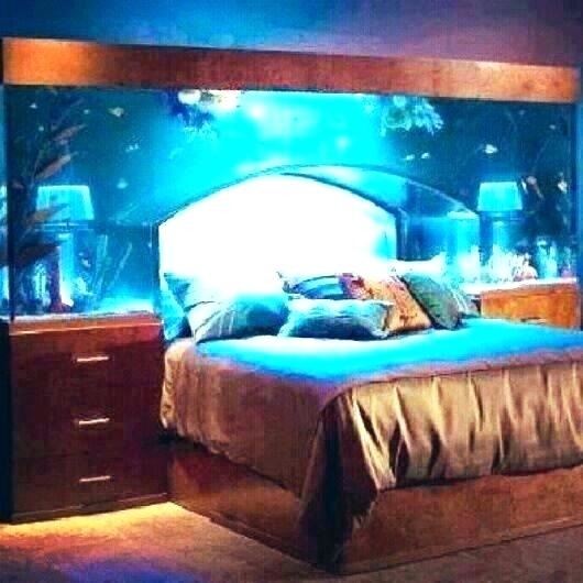 bedroom fish tank in noise cool aquarium ideas bed m frame room beds for sale com