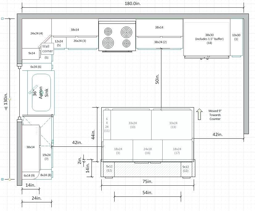 9 X 9 Kitchen Design, 8 X 18 Kitchen Designs 8 X 9 Kitchen,