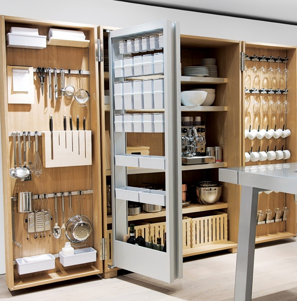 Kitchen utensils can make a big mess in the kitchen if they are not stored  properly