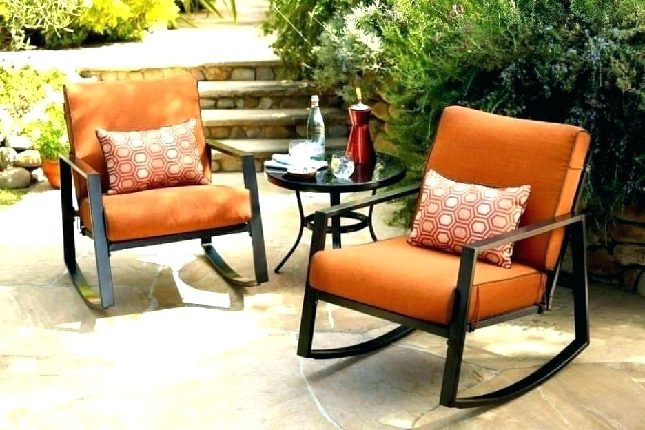 Full size of Rustic Outdoor Patio Furniture Outdoors The Home Depot Oak Cliff 7 Piece Metal