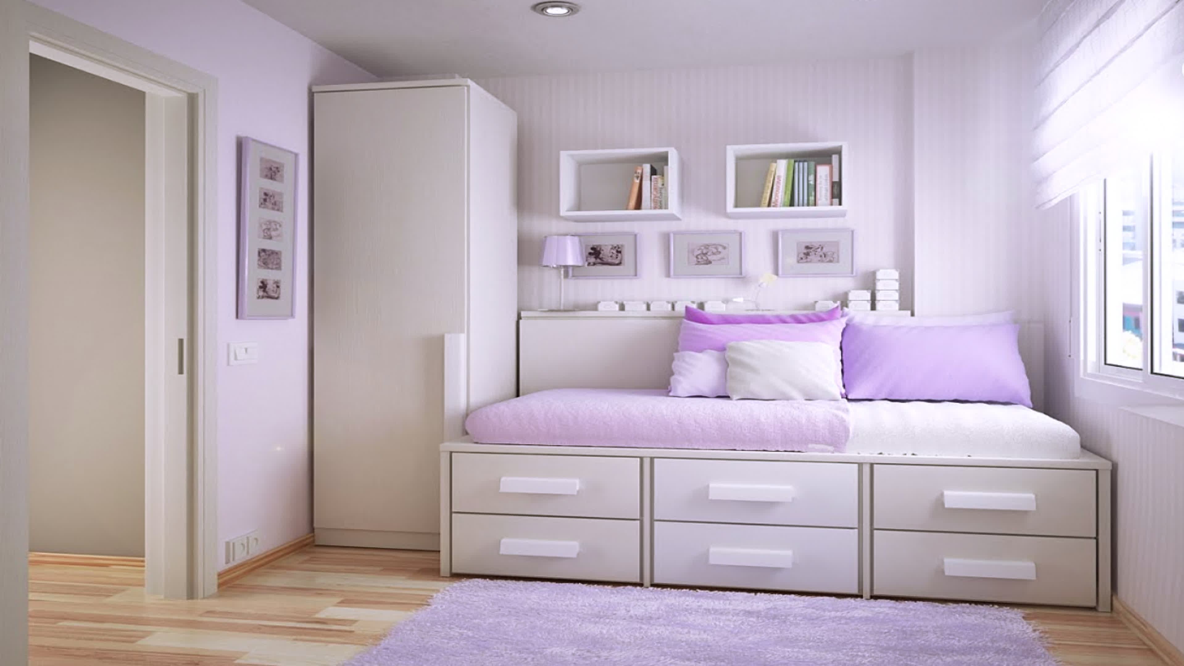new girl bedroom
