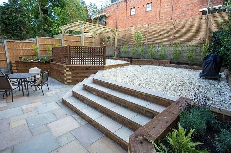 composite deck ideas wonderful garden decking with best designs small com  design fancy grey trex color