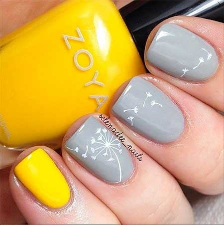 Nail Art:Best Spring Nail Art Makeup Trends Review Swatches Spring Fall Nail Polish Looks