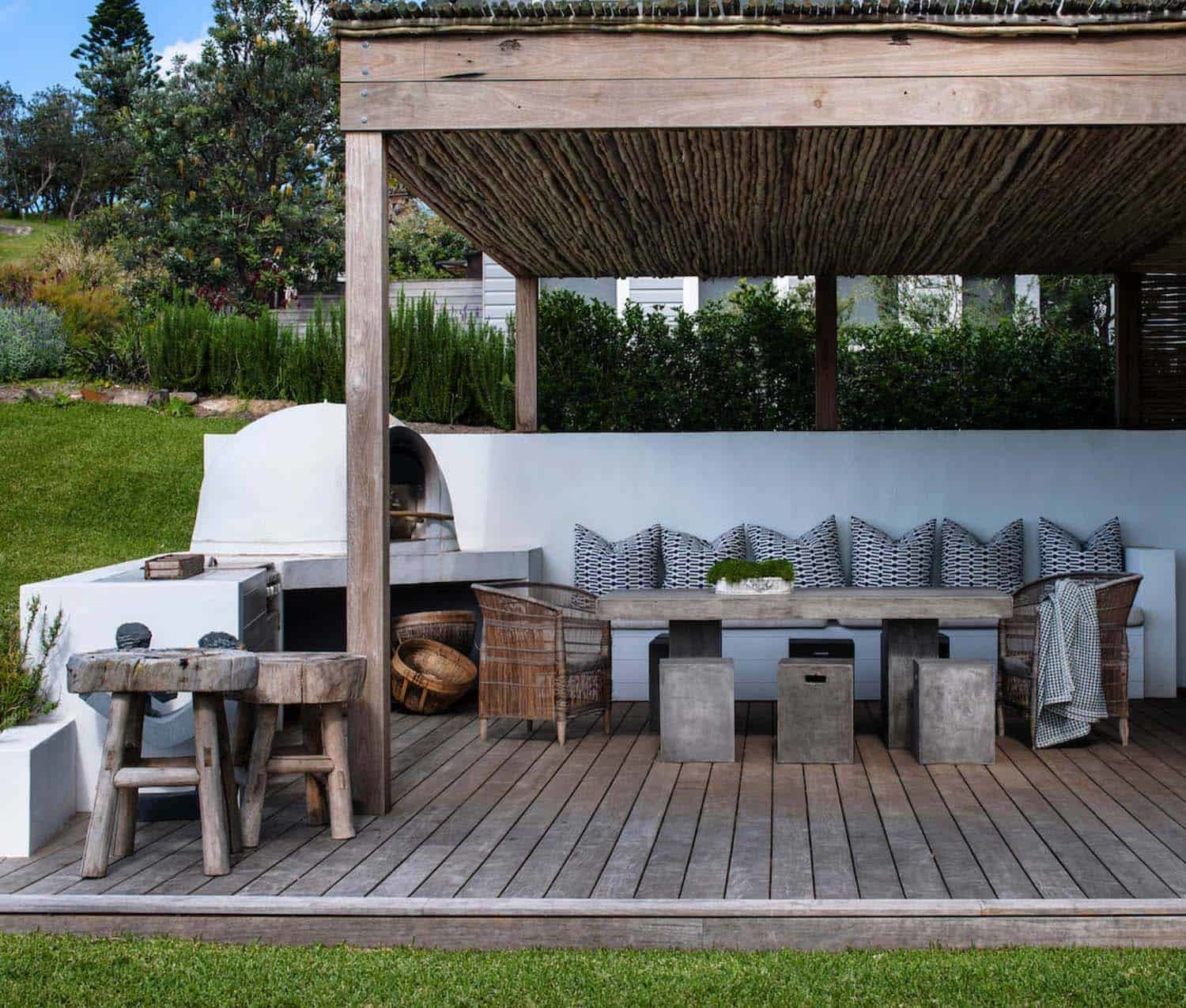 Outdoor living features can transform a yard, maximizing the livable space and providing enjoyment for your family