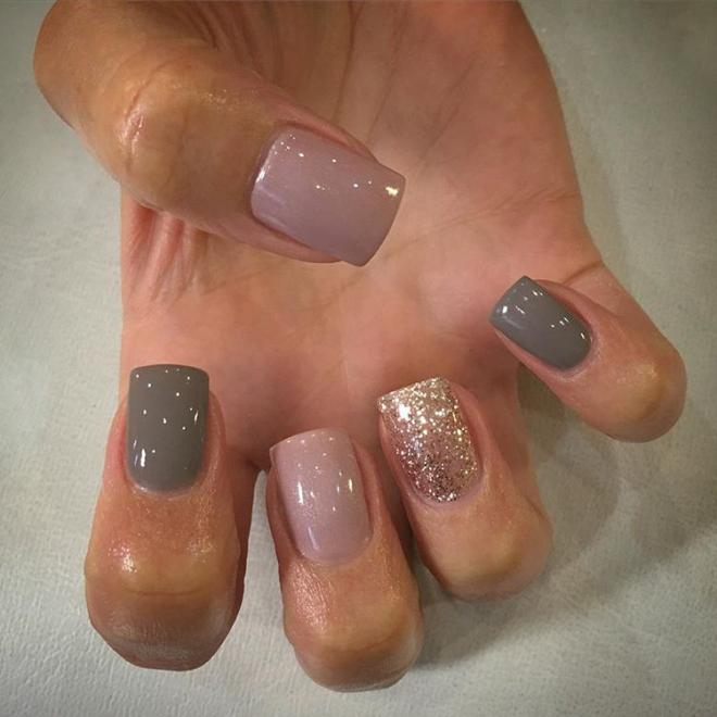Pink Gel nail polish ombre nails Nail polish stickers Nail art design  ideas Gel nail polish