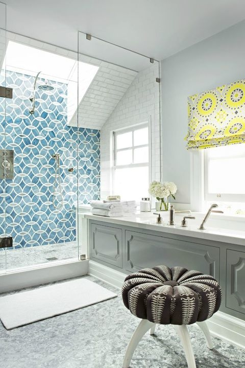 What kind of pattern do you want? Do you want to go with a  large tile or a