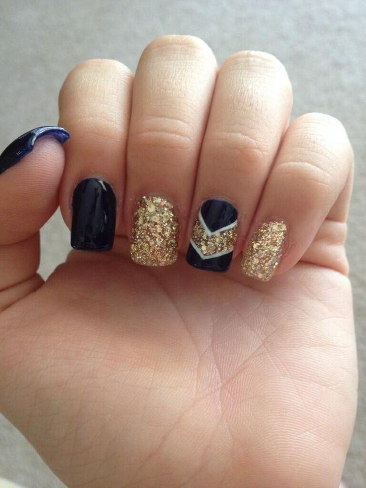 Black gel nail art : Nail Art Top Cute Gel Nails Designs Ideas You Must Try  Summer Black