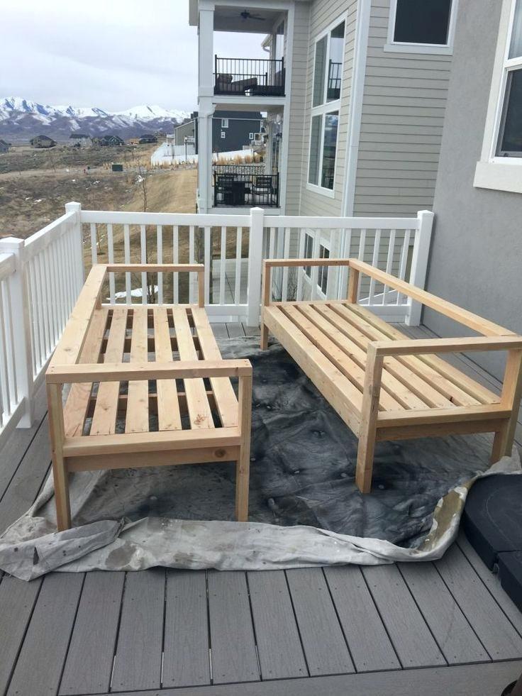 Color: DIY Outdoor Patio Furniture