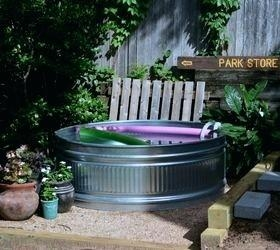 "The adult kiddie pool: Stock tank pools will pop up in more backyards this  summer, thanks to their low cost and easy installation (searches for ""stock  tank"
