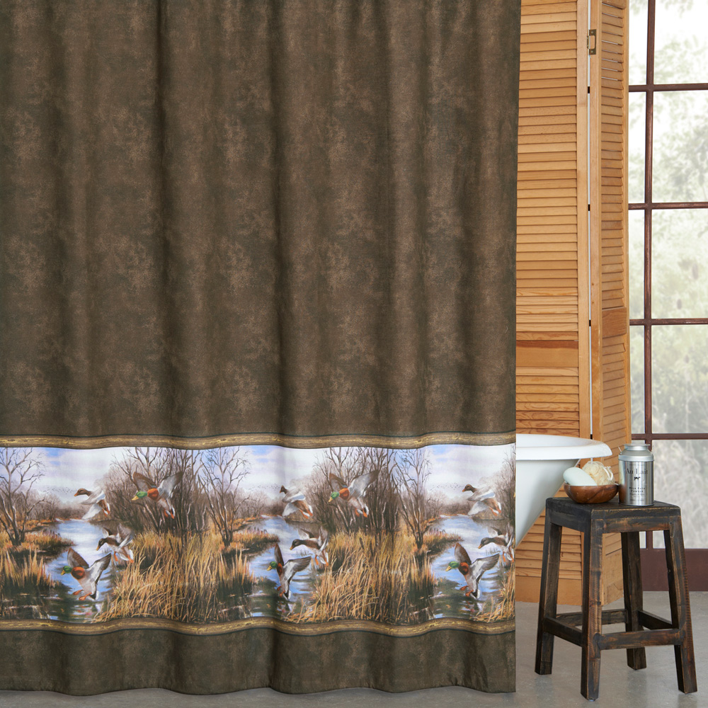 shower curtain outdoor outdoor themed