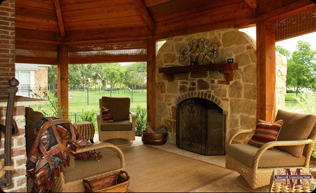 Adding a backyard BBQ provides an opportunity for entertaining guests with an outdoor cookout, or just a space to grill a couple steaks for a romantic