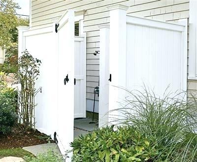 vinyl outdoor shower enclosure kits kit medium size of glass showers without doors ki