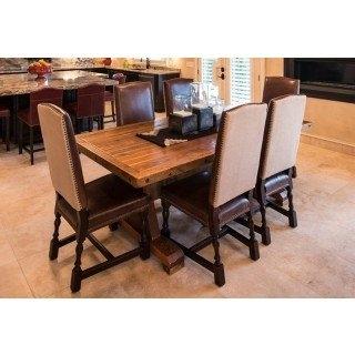 Barn Wood Laredo Dining Table