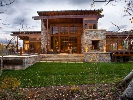 Modern Mountain Homes Modern Rustic Homes, modern rustic house