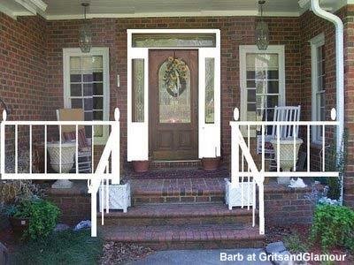 brick front porch designs front house