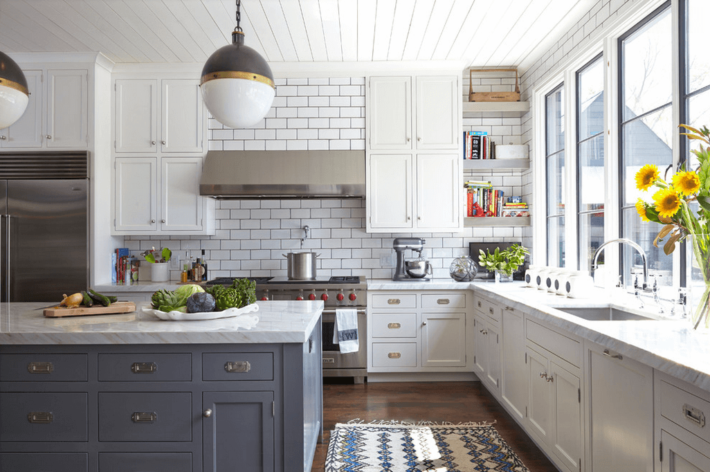 Kitchen Design Ideas White Cabinets Our Favorite White Kitchens Home Sweet  Home Kitchen Remodel Kitchen Cabinetry Grey Subway Tiles Small Kitchen  Design