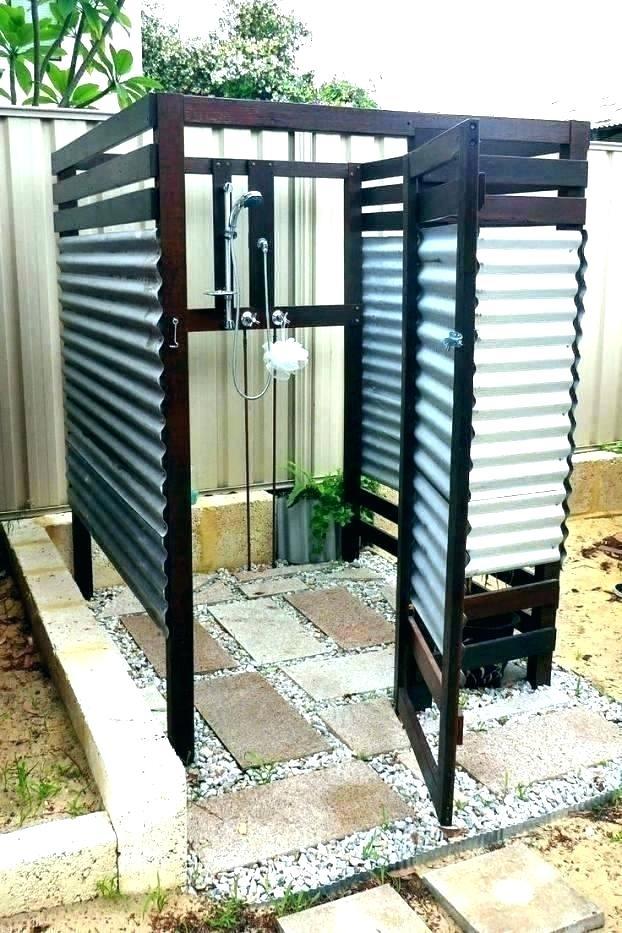 diy outdoor shower enclosure outdoor shower enclosure plans amazon com outdoor shower enclosure cedar house mount