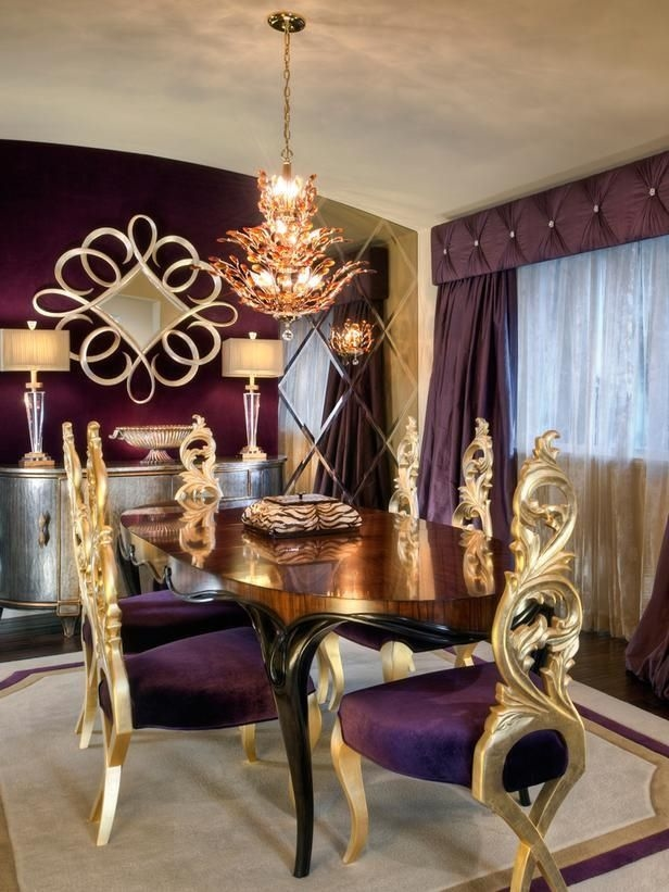 dining room purple kitchen table and chairs z gallerie deluxe eagan  multipanel mirror round br pottery