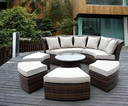 ohana outdoor patio wicker furniture reviews review mixed brown best