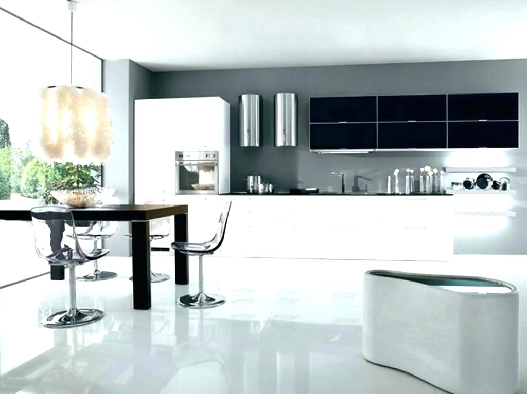 modern kitchen black