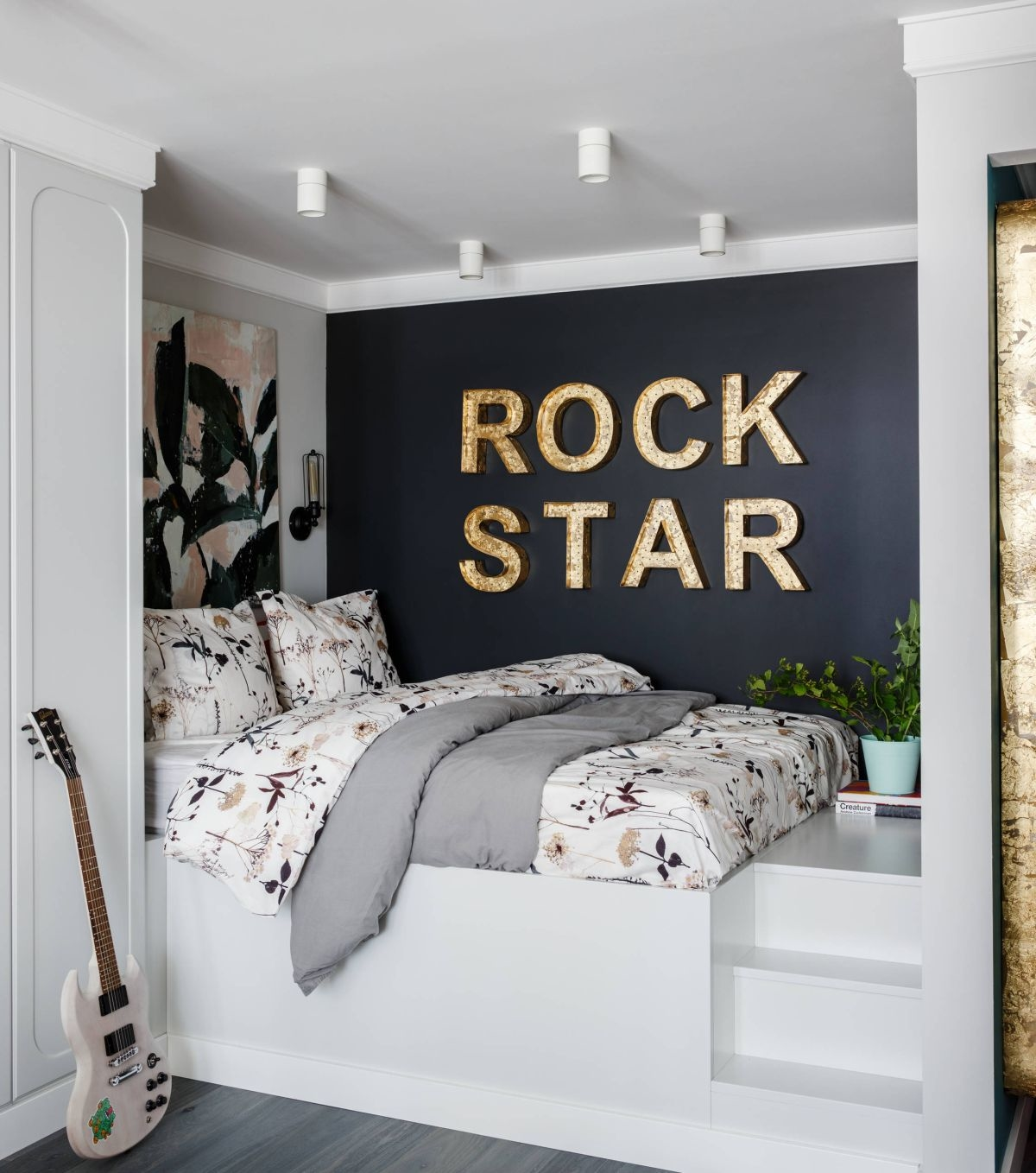 Decorating a small bedroom around a king size bed needn't be a chore if you  follow a few simple rules to maximise the storage opportunities in your room  and
