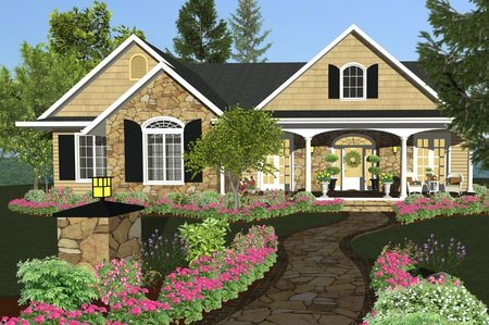 Virtual Architect Ultimate is home design software with landscaping and decks