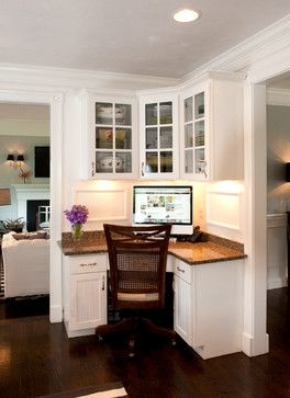Great office nook for kitchen