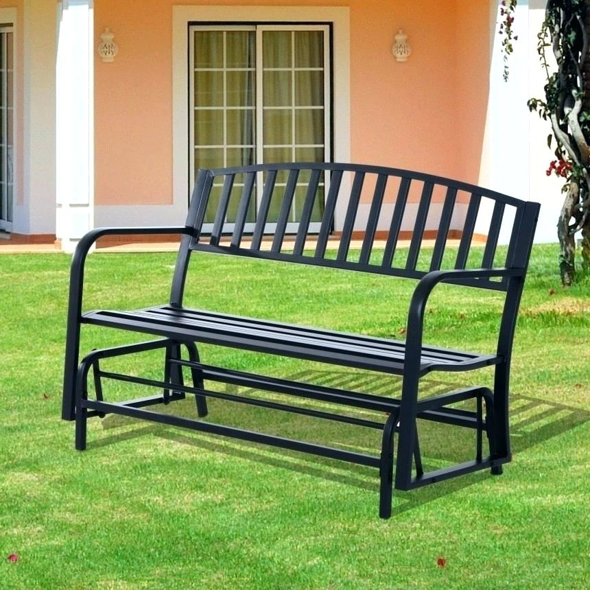 Outdoor Gliders Patio Chairs The Home Depot Ideas 2 Glider Loveseat