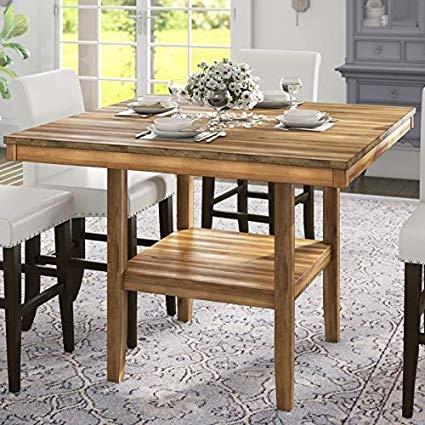 Color: Barnwood Rectangular Dining Table